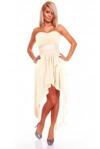 С хвостом платье ассиметрия фото
