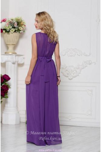 Фиолетовое платье на выпускной в Киеве - Фото 3