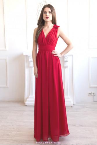 Красное вечернее платье купить в Киеве по супер цене - распродажа ... 8b5f58a5293
