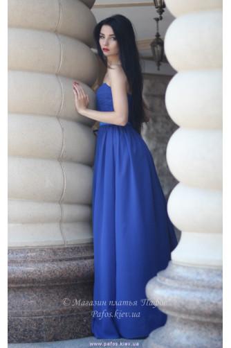 Синее платье корсетное в Киеве - Фото 4