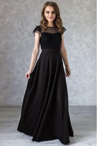 Длинная черная юбка в Киеве - Фото 1