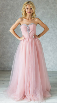 Фото пышное платье на выпускной