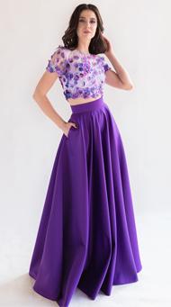 Фото топ и юбка на выпускной