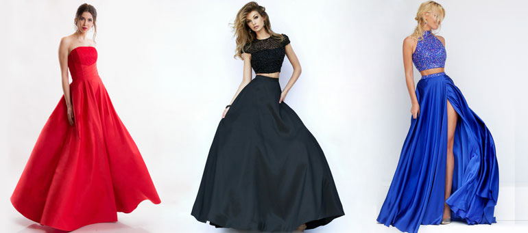 Фото 10 платьев на выпускной от магазина Пафос