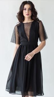 Фото черного короткого платья на свидание