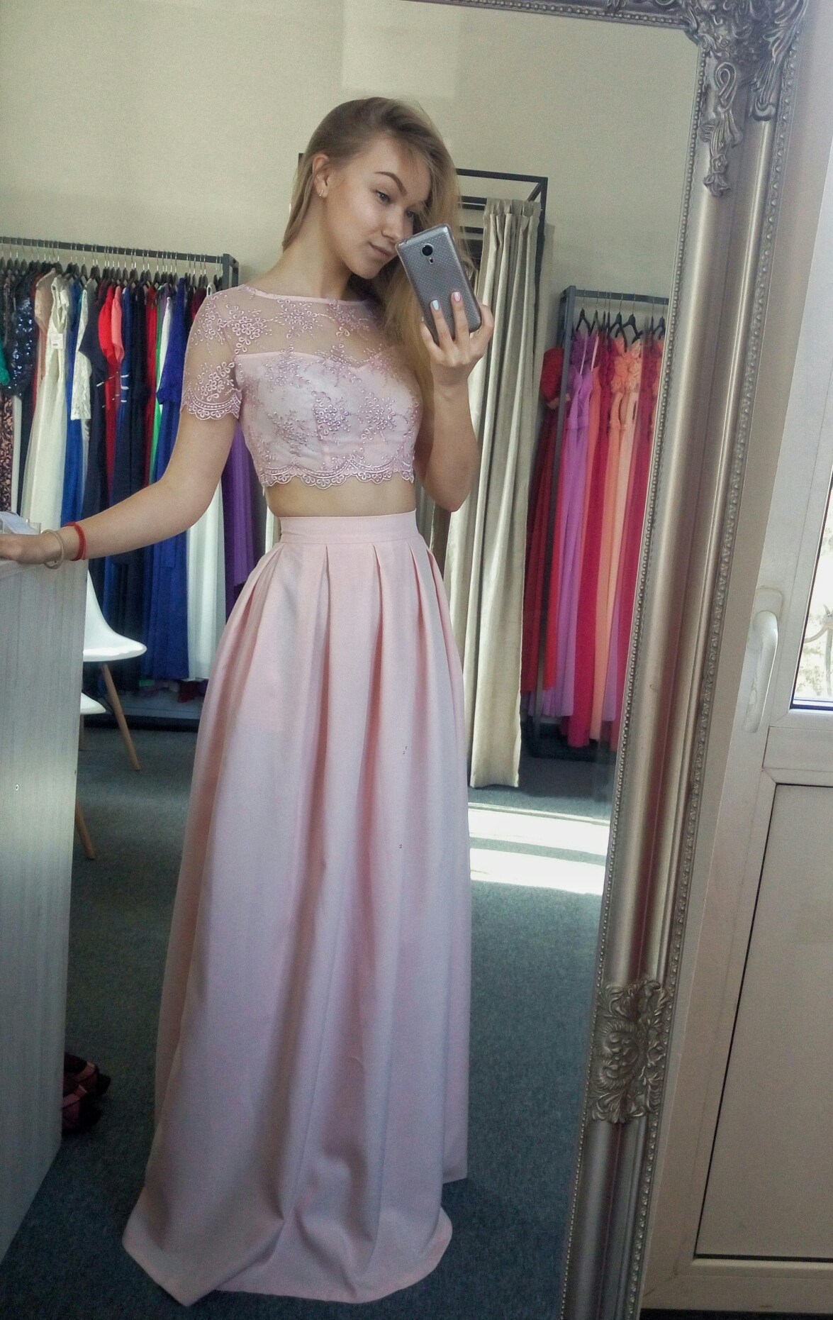 Топ и юбка платье купить